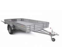 Прицеп для перевозки снегоходов, квадроциклов и вездеходов