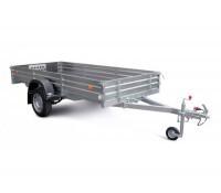 Прицеп для транспортировки снегоходов и другой мототехники