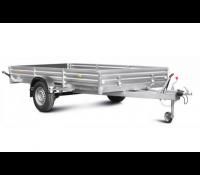 Прицеп с тормозной системой для мототехники и коммерческих перевозок