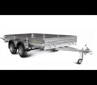 Прицеп для перевозки квадроциклов и крупногабаритных грузов