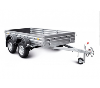 Прицеп для перевозки строительных материалов и других грузов